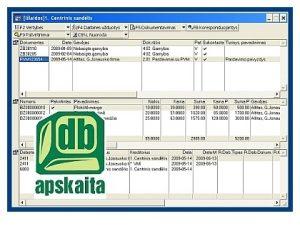 Buhalterinė programa   DB Apskaita   Biznio kontaktai