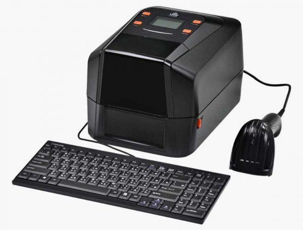 Autonominis etikečių spausdintuvas Wincode LP433A 300dpi