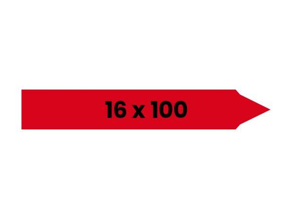 Įsmeigiamos etiketės | 16x100