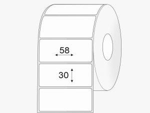 lipnios etiketes 58x30