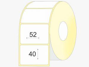 Termo lipnios etiketes 52x40