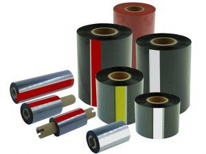 Dažjuostės etikečių spausdintuvams